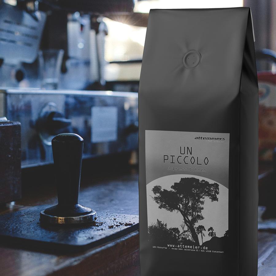 Espressobohnen UN PICCOLO, 1 kg