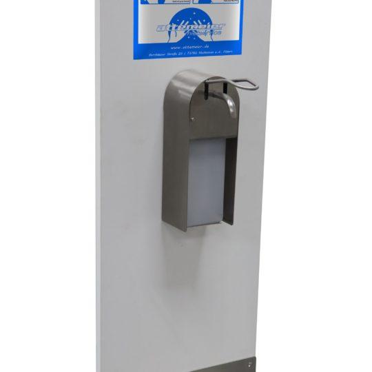 Desinfektionsmittelstation für Kinder (niedrige Ausführung)